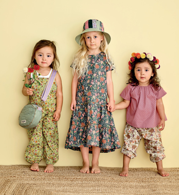 Unique styles for young children