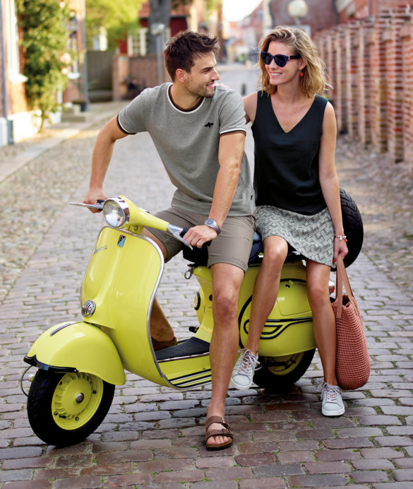 Summer clothing for women and men